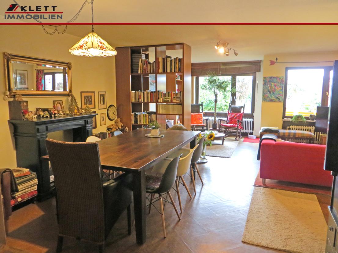 klett immobilien fast ein reihenmittelhaus 4 zimmer maisonette wohnung mit gartenanteil und. Black Bedroom Furniture Sets. Home Design Ideas